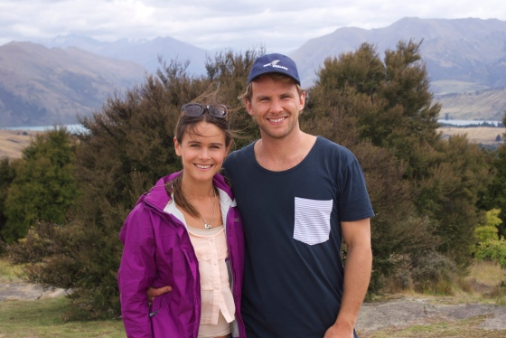 Nathan and me in Wanaka, New Zealand